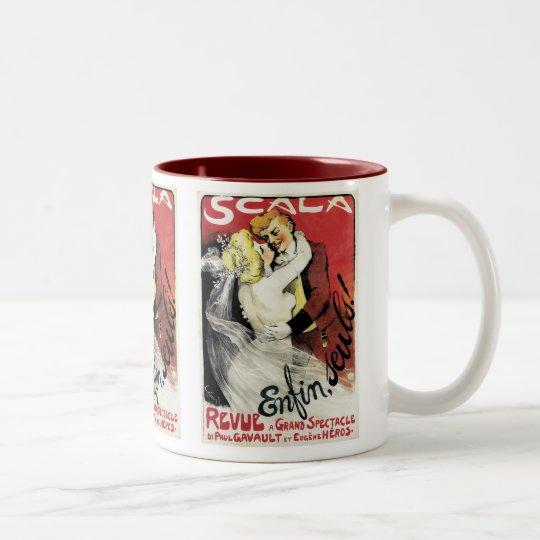 Scala ~ Enfin, Seuls! Two-Tone Coffee Mug