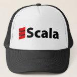 "Scala Hat, Black Logo Trucker Hat<br><div class=""desc"">Hat with Black Scala Logo</div>"
