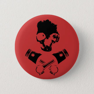 Scalawag & Crossed Pistons Pinback Button