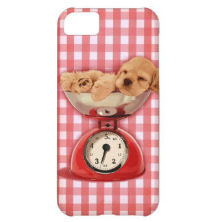 Scale cocker spaniel cover for iPhone 5C