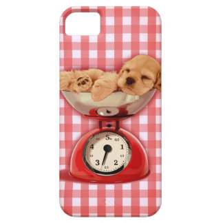 Scale cocker spaniel iPhone 5 covers