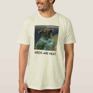 Scale-Crested Pygmy Tyrant: BIRDS ARE NEAT T-Shirt