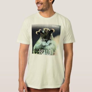 Scale-Crested Pygmy Tyrant: HELLO T-Shirt