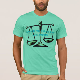 scale, Justice and Inquiry into Law Society T-Shirt