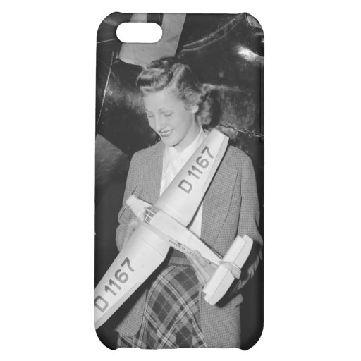 Scale Model German Airplane, 1938 iPhone 5C Cases