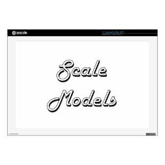 Scale Models Classic Retro Design Decals For Laptops