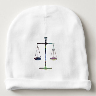 scale of justice baby beanie
