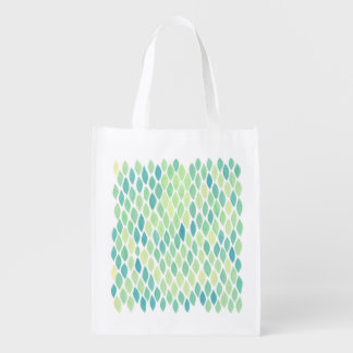 Scale Pattern Grocery Bag