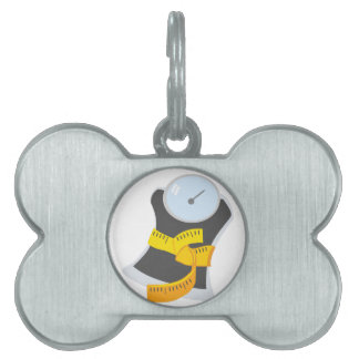 Scale Pet ID Tag