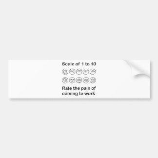 Scale The Pain Bumper Sticker