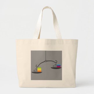 Scale Vector Large Tote Bag