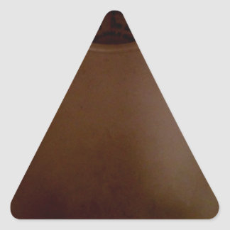 SCALE WITH FOOTPRINTS TRIANGLE STICKER