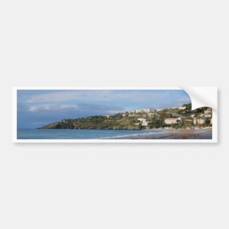 Scalea Beach, Calabria Car Bumper Sticker