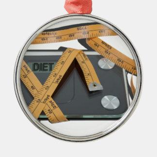 ScaleMeasuringTape021613.png Metal Ornament