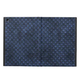 SCALES2 BLACK MARBLE & BLUE STONE (R) iPad AIR COVER