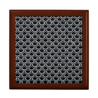 SCALES2 BLACK MARBLE & GRAY MARBLE JEWELRY BOX