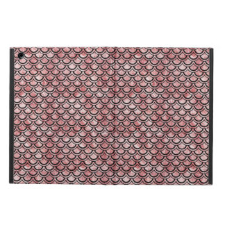 SCALES2 BLACK MARBLE & RED & WHITE MARBLE (R) iPad AIR COVER