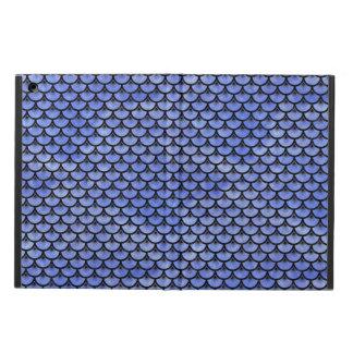 SCALES3 BLACK MARBLE & BLUE WATERCOLOR (R) iPad AIR CASE