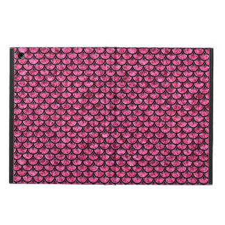 SCALES3 BLACK MARBLE & PINK MARBLE (R) iPad AIR COVER