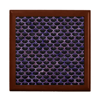 SCALES3 BLACK MARBLE & PURPLE MARBLE GIFT BOX