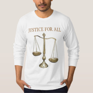 scales3, JUSTICE FOR ALL T-Shirt