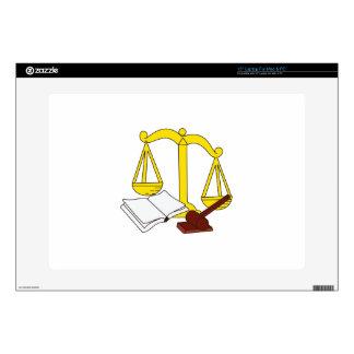 """Scales 15"""" Laptop Skin"""