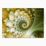 Scales Fractal Art Card