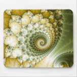 Scales Fractal Art Mouse Pad