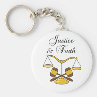 SCALES JUSTICE AND TRUTH KEYCHAINS