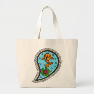 Scales Light Tote Bag
