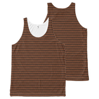 Scales(Marron)™ All-Over-Print Tank Top