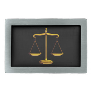 Scales of Justice - Belt Bucklet Belt Buckle