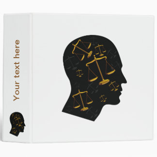 Scales of Justice - Binder