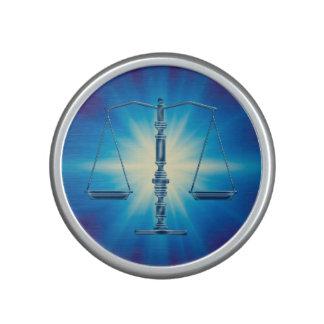 Scales of Justice | Blue Supernova Light Bluetooth Speaker