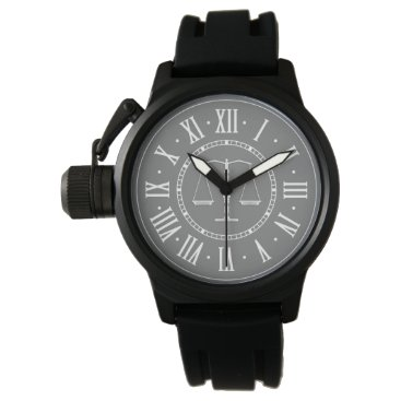 Scales of Justice | Classic Wrist Watch