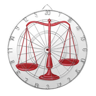 Scales Of Justice Dart Board