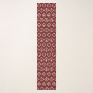 Scales of Justice | Decorative Pattern Scarf