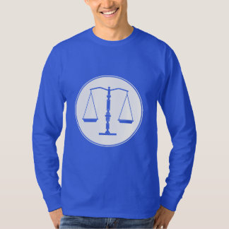 Scales of Justice Design | Attorney At Law T-Shirt