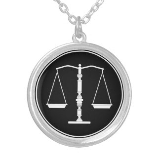 Scales of Justice - Elegant Necklace