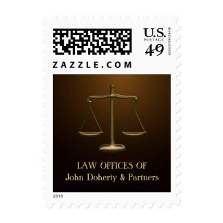 Scales of Justice - Elegant Postage