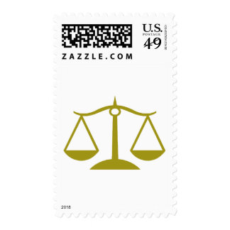 Scales of Justice - Gold Stamps