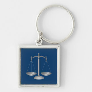 Scales of Justice Keychain