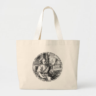 Scales of Justice Large Tote Bag