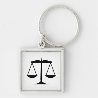 Scales of Justice (Law) Keychain