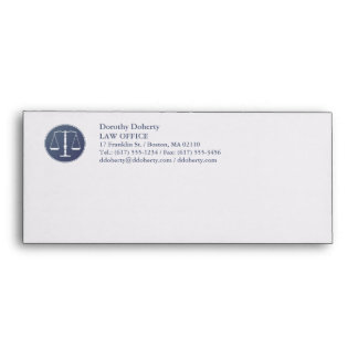 Scales of Justice | LAW OFFICE Envelope