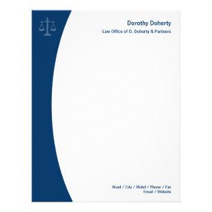 attorney letterhead zazzle