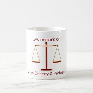 Scales of Justice Mug