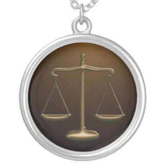 Scales of Justice - Necklace
