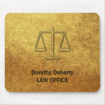 Scales of Justice | Personalizable Mouse Pad