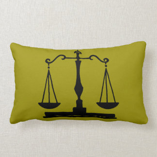 Scales Of Justice Pillow